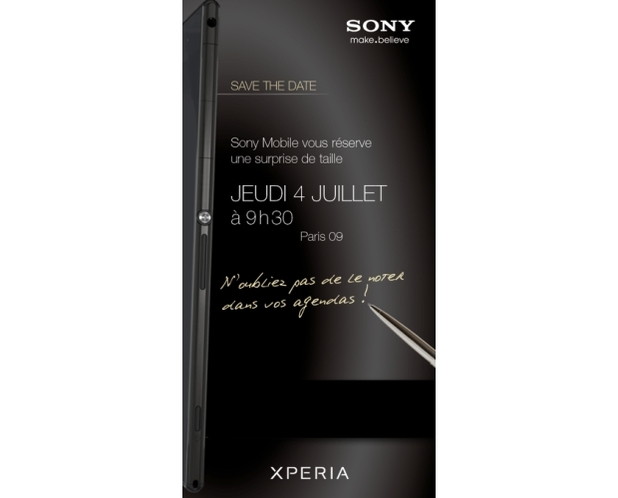Sony Xperia Z Ultra press image