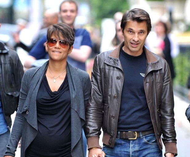 Halle Berry, Olivier Martinez, Paris, pregnant