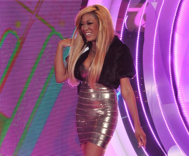 Gina Rio enters the Big Brother house