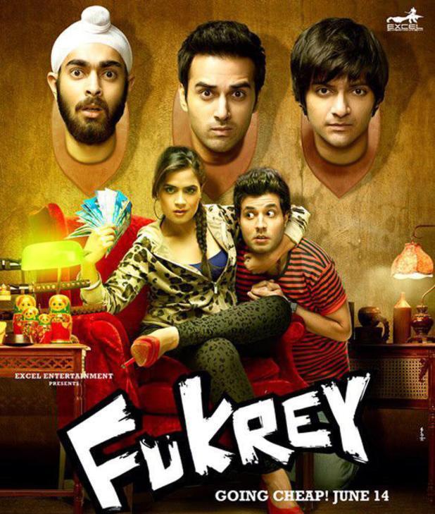 Fukrey poster