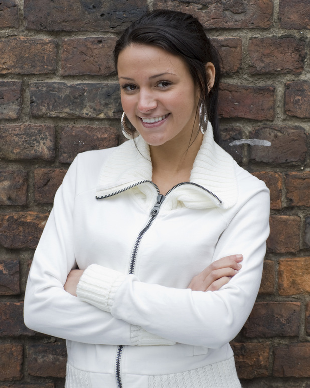Michelle Keegan as Tina McIntyre in Coronation Street