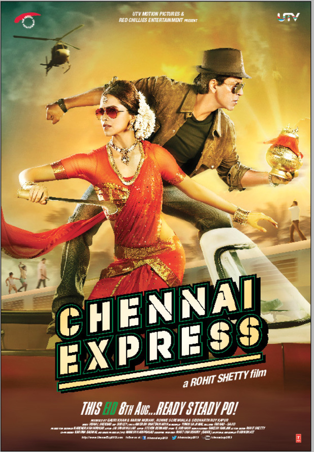 'Chennai Express' poster