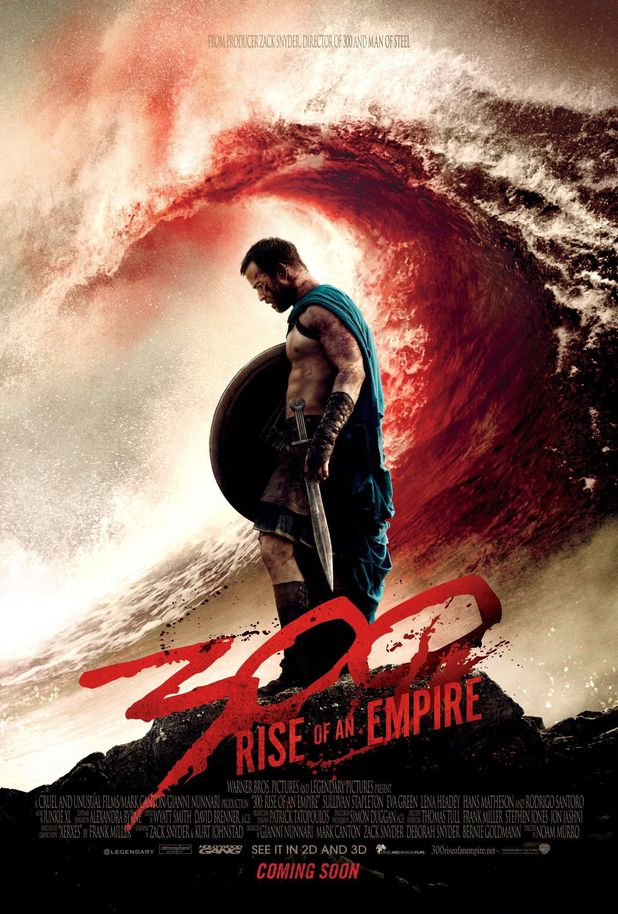 '300: Rise of an Empire' poster