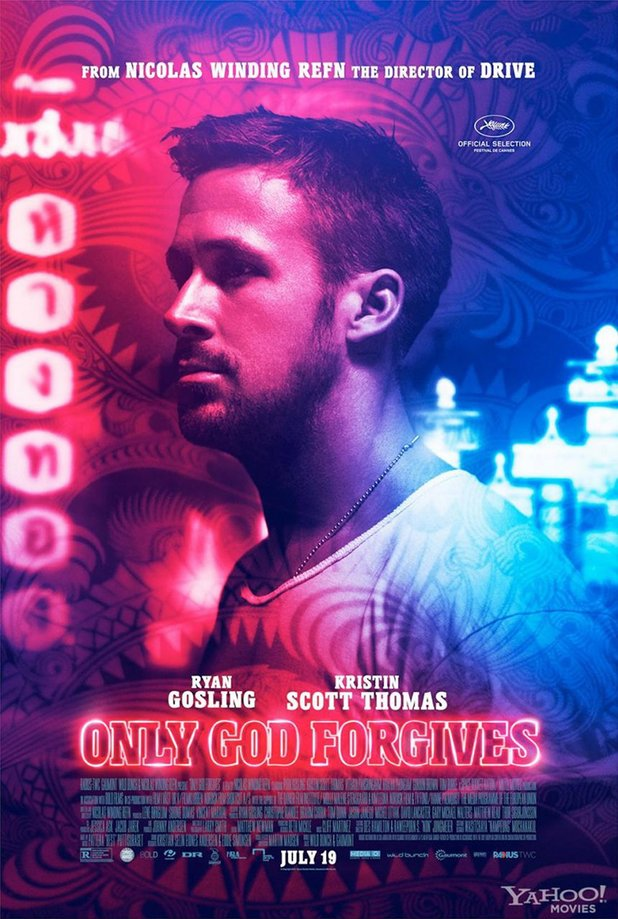 Ryan Gosling in 'Only God Forgives' poster