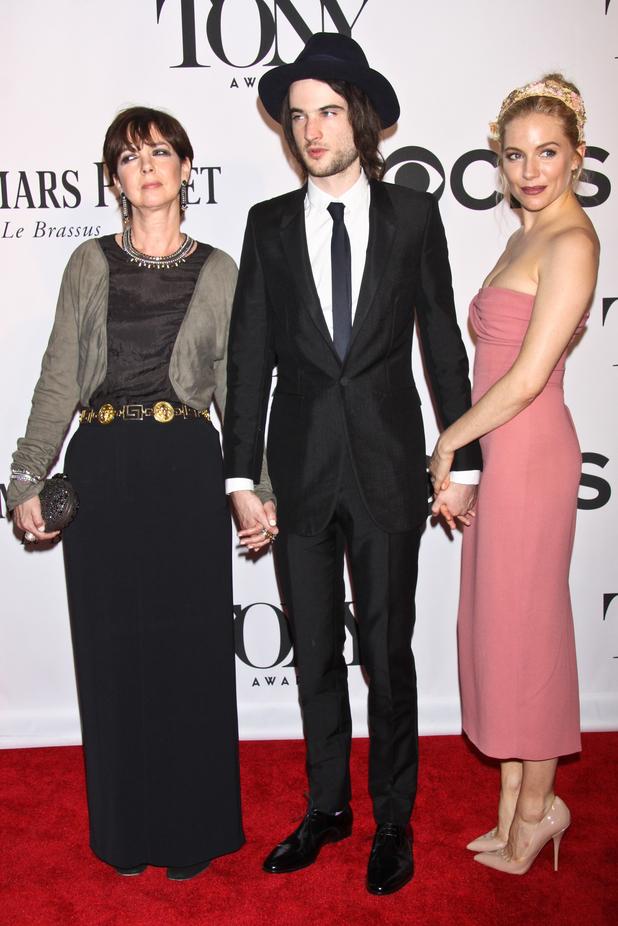 Phoebe Nicholls, Tom Sturridge & Sienna Miller