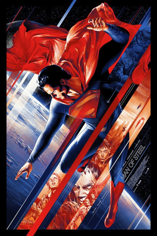 Mondo 'Man of Steel' poster