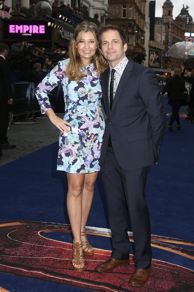 Zack Snyder and wife Deborah