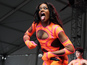 Azealia Banks in risqué bodysuit