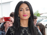 Nicole Scherzinger arrives Old Trafford for The X Factor auditions.