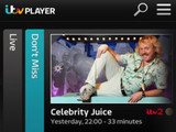 ITV Player on iOS