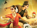 Deepika Padukone and Shah Rukh Khan star in this escapist joyride.