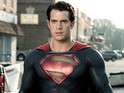 Henry Cavill Superman reboot spends second week at the top of the UK chart.