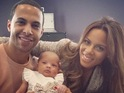 "JLS star says he is ""still in that honeymoon phase"" of being a new parent."