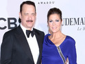 The Captain Phillips actor discusses 25-year marriage to Rita Wilson.