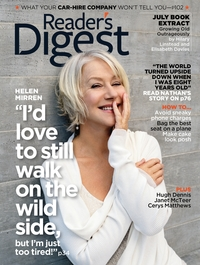 Helen Mirren fronts the Reader's Digest