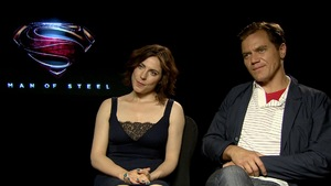 Michael Shannon, Antje Traue 'Man of Steel' interview: Heat vision would be great to cook creme brulee