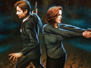 'The X Files: Season 10' #1 cover artwork