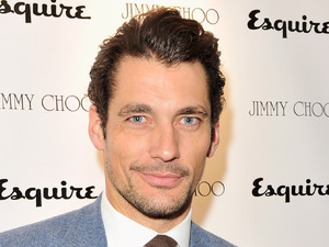 David Gandy, Jimmy Choo and Esquire opening night of London Collections:Men at 5 Hertford Street