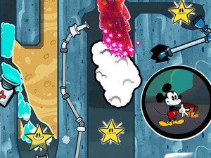 'Where's My Mickey?' iPhone screenshot