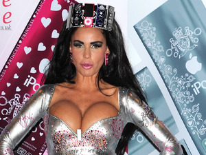 Katie Price, Boutique iPod Range Photocall held at the Worx.