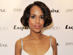 Kerry Washington, Jimmy Choo and Esquire opening night of London Collections:Men at 5 Hertford Street, London.