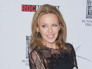 Kylie Minogue, see-though mini-dress, Kylie Fashion book launch