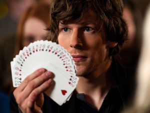 Jesse Eisenberg in Now You See Me