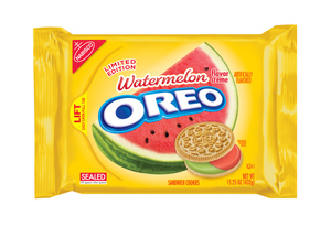 Oreo release limited-edition watermelon flavour