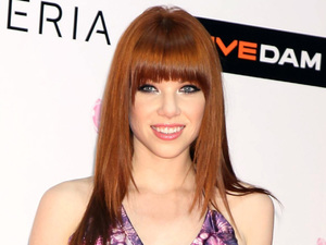 Carly Rae Jepsen attends the MTV Video Music Awards in Japan.