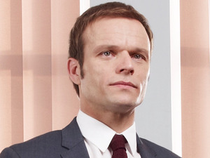 Alec Newman as Michael Byrne in Waterloo Road