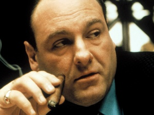 James Gandolfini in Season 4 of The Sopranos