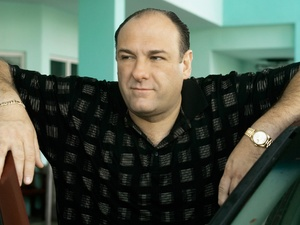 James Gandolfini in Season 7 of The Sopranos