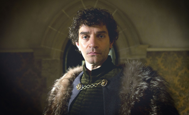 James Frain as Lord Warwick in 'The White Queen'