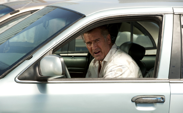 Bruce Campbell as Sam Axe in season 6 of 'Burn Notice'