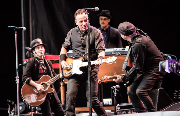 Bruce Springsteen and the E Street Band perform at Wembley Stadium, London