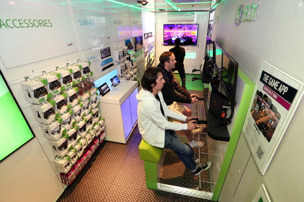 GAME opens first XBox store at Boxpark