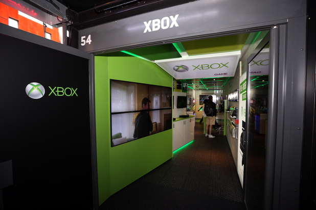 GAME XBox store at Boxpark