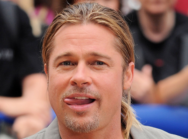 Brad Pitt, 'Good Morning America' TV show, New York, World War Z