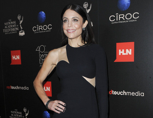 Bethenny Frankel arriving at the 40th Annual Daytime Emmy Awards
