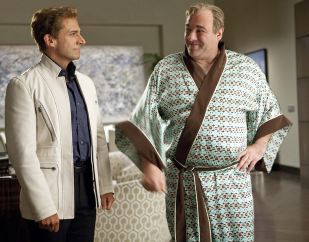 The Incredible Burt Wonderstone - 2013: Steve Carell, James Gandolfini
