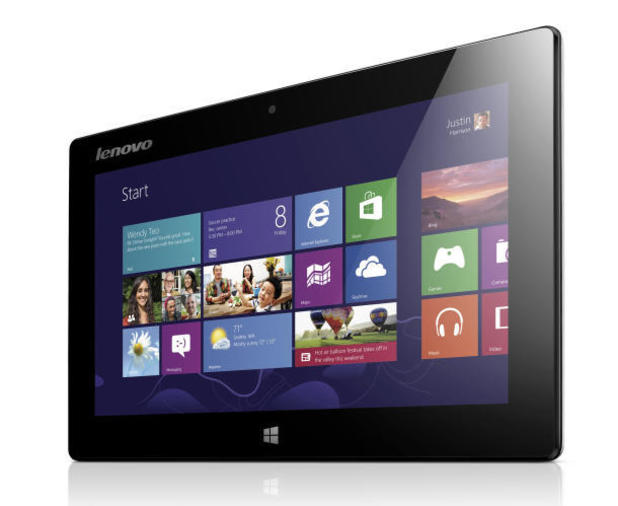 The Lenovo Miix Windows 8 tablet