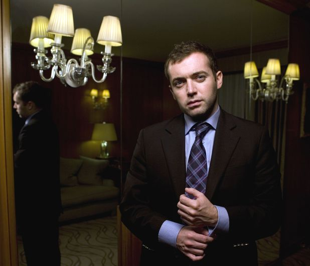 Michael Hastings at the Berkeley Hotel, Knightsbridge, November 2010