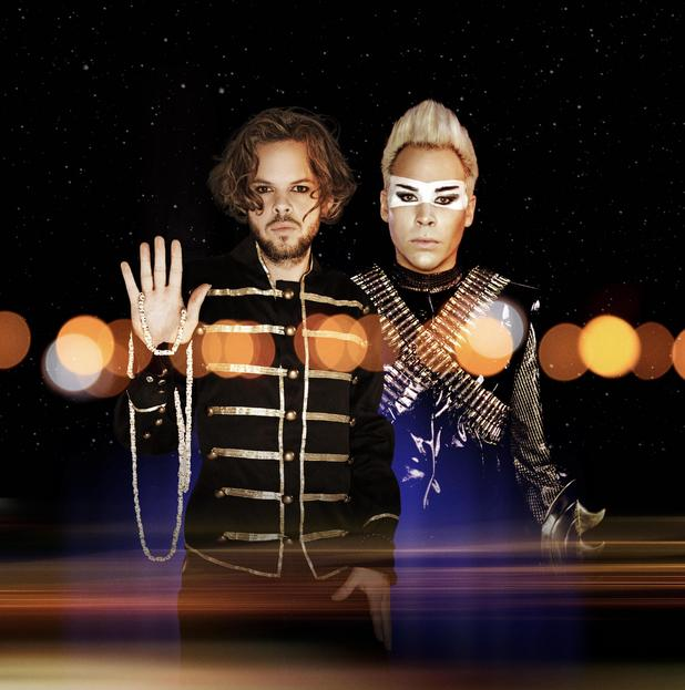 Empire of the Sun, Luke Steele, Nick Littlemore
