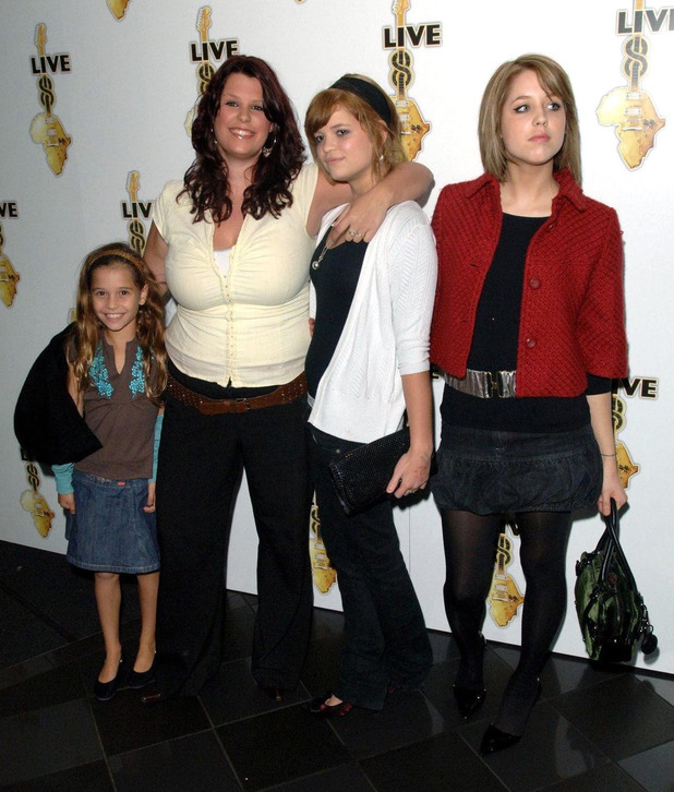 Tigerlily, Fifi, Pixie and Peaches attend the global premiere for the DVD release of the Live 8 MAKEpovertyHISTORY awareness raising gigs in July 2005