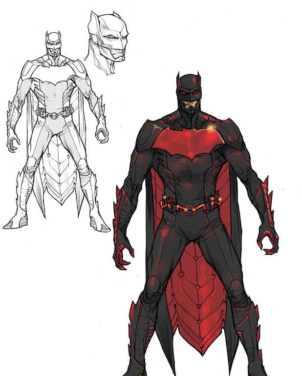 'Justice League 3000' Batman design