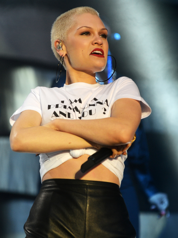 Jessie J, Chester Rocks festival 2013 held at Chester Racecourse