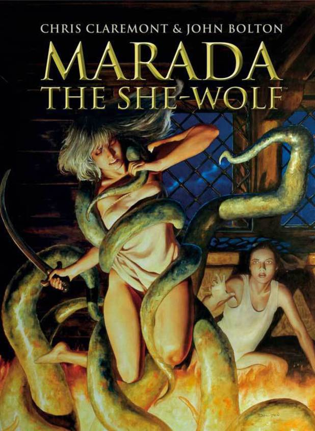 'Marada the She-Wolf' cover artwork