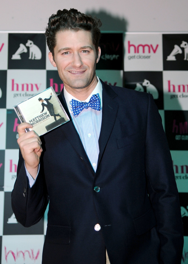 Matthew Morrison, new music album 'Where It All Began', HMV, London