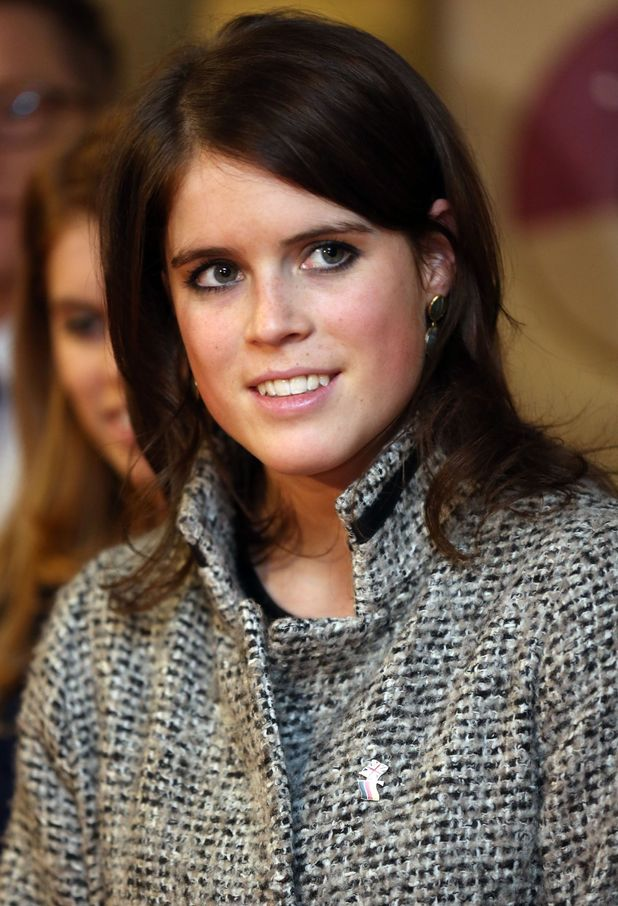 Princess Eugenie during a visit to the Teenage Cancer Treatment Unit.