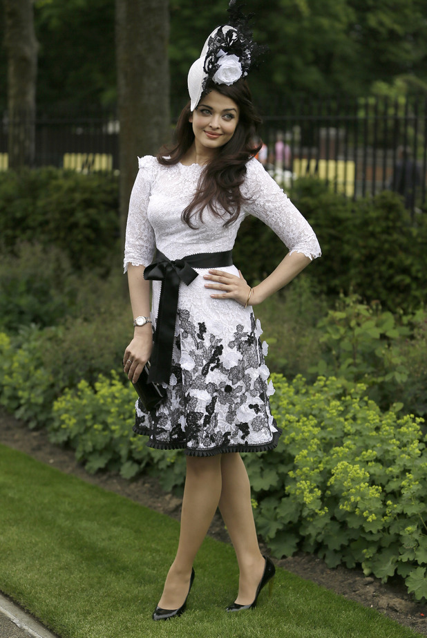 Aishwarya Rai Bachchan attends Ladies Day at Royal Ascot